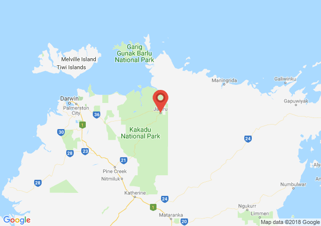 Google map image of Jabiru Drive, Kakadu NT 0886