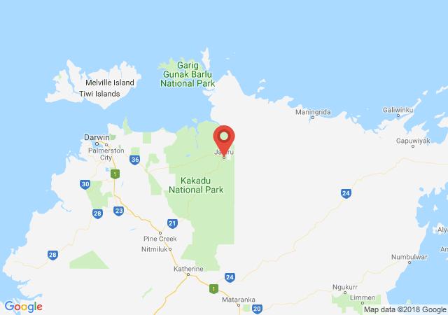Google map image of Jabiru Drive, Kakadu NT 0886